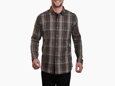 Kuhl Men's Fugitive Flannel Long-Sleeved Shirt