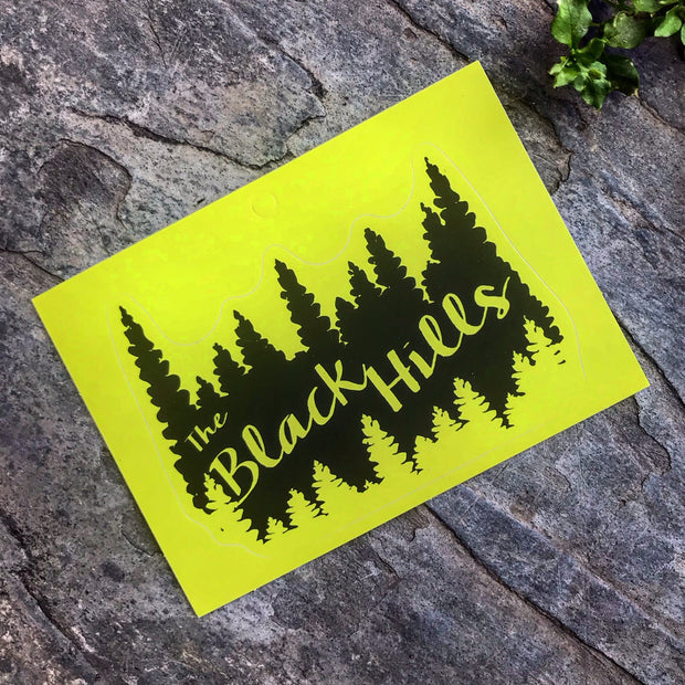 Black Hills Treeline Sticker