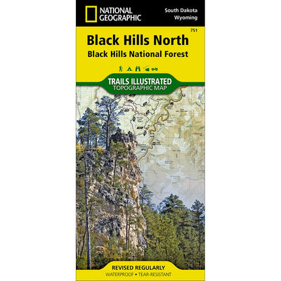 Trails Illustrated Black Hills North / Black Hills National Forest Trail Map