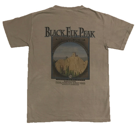 Granite Sports Men's Black Elk Peak T-Shirt