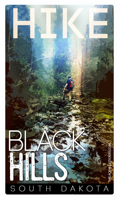 Hike Black Hills Sticker