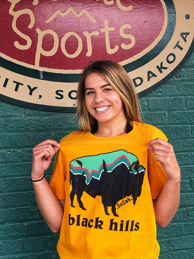 SoDak Clothing Men's / Unisex Bison T-Shirt