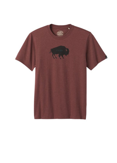 prAna Men's Buffalo Roam Journeyman T-Shirt