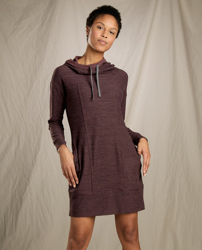 Toad & Co. Women's Intermosso Hooded Dress