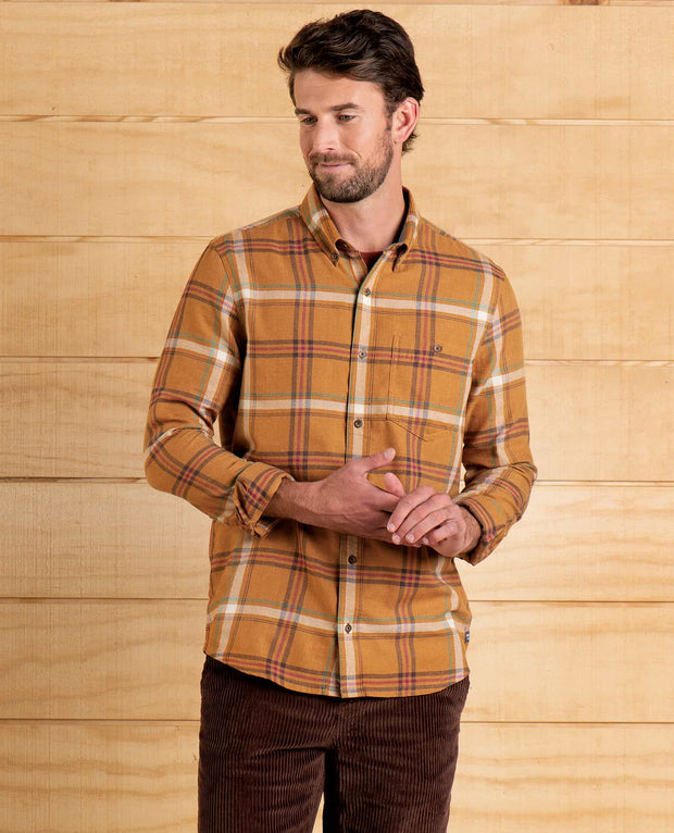 Toad & Co. Men's Airsmyth Long-Sleeved Shirt