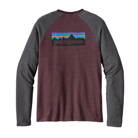 Patagonia Men's P-6 Logo Light-Weight Crew Sweatshirt