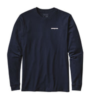 Patagonia Men's Long-Sleeved P-6 Logo Cotton T-Shirt