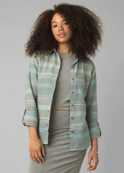 prAna Women's Alfie Flannel Top