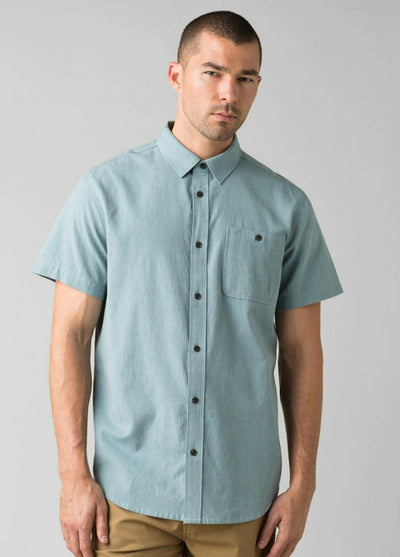 prAna Men's Jaffra Short Sleeve Shirt