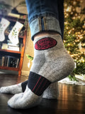 Fitsock 1/4 Height Socks with Granite Sports Logo