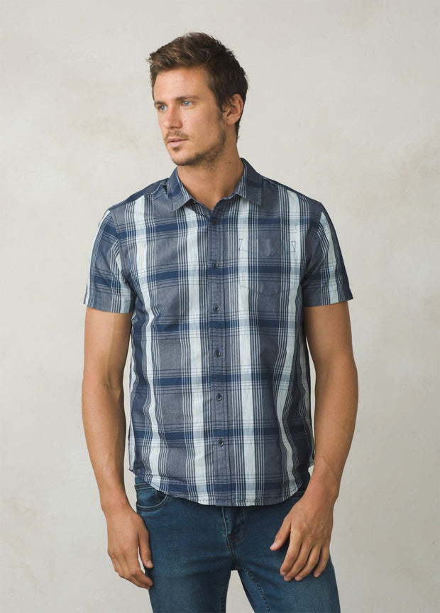 prAna Men's Tamrack Short Sleeved Shirt