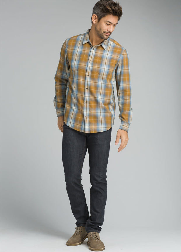 prAna Men's Holton Plaid Long Sleeve