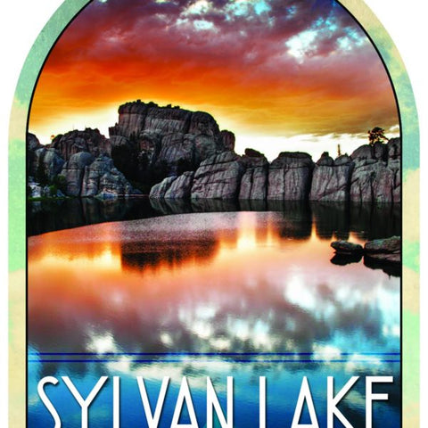Sylvan Lake Sticker