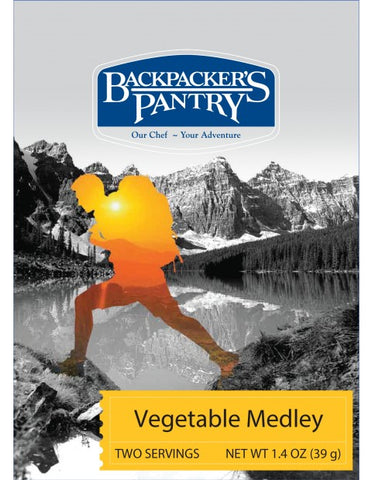 Backpacker's Pantry: Vegetable Medley