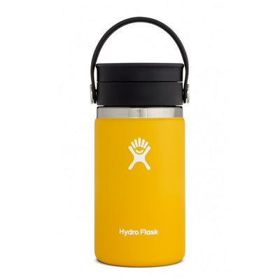 Hydro Flask Wide Mouth 12oz Coffee Flask w/ Flex Sip Lid