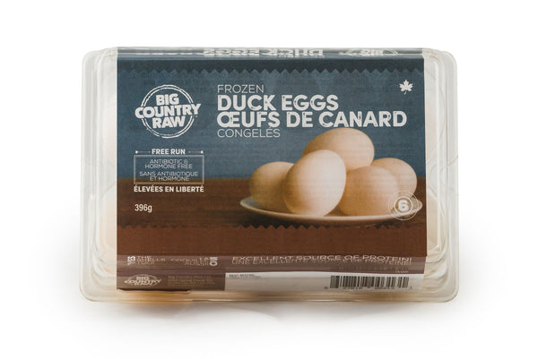 NEW - Frozen Duck Eggs 6