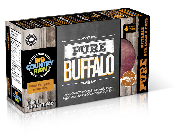 Pure Buffalo CARTON - 4x1lb
