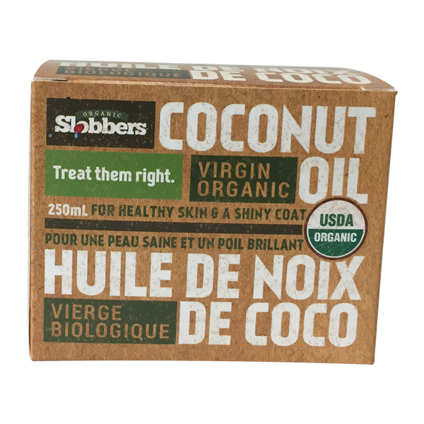 Slobbers® Organic Virgin Coconut Oil - 250 ml