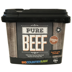 Pure Beef TOTE - 6lb