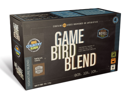 Game Bird Blend 1lb x4 Carton
