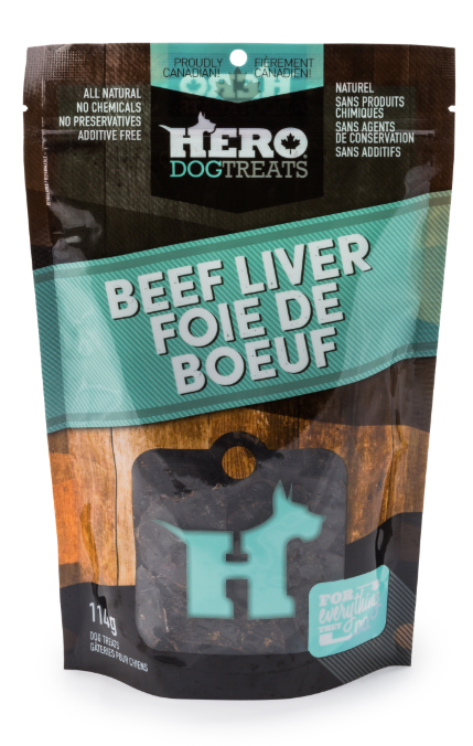Dehydrated Beef Liver 114g