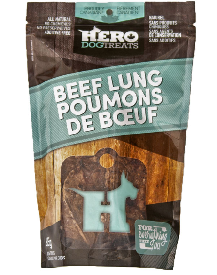 Dehydrated Beef Lung 65g