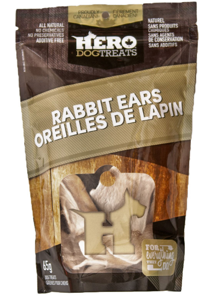 Dehydrated Rabbit Ears 65g