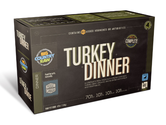 Turkey Dinner CARTON - 4x1lb