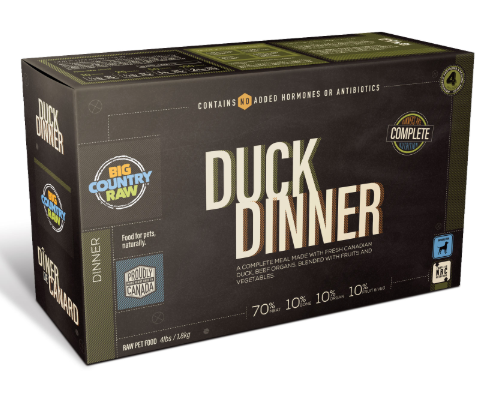 Duck Dinner CARTON - 4x1lb