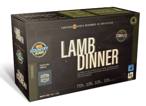 Lamb Dinner CARTON - 4x1lb