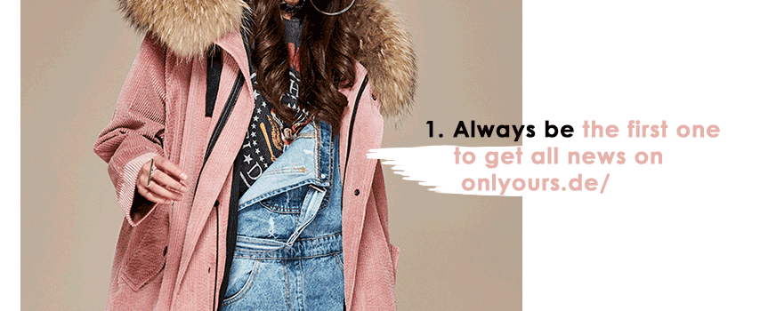 mix & match your own parka - onlyours.de - newsletter