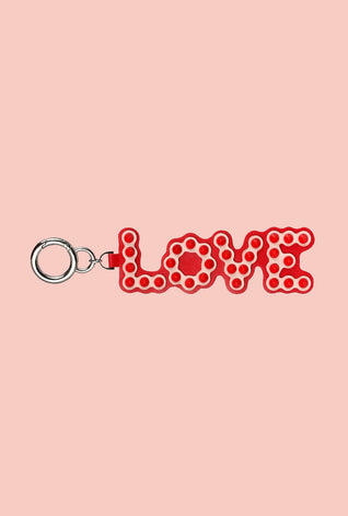"Real Leather ""LOVE"" Pendant"