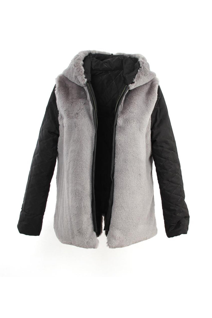 Mix & Match Parka Inner Lining - Short - Faux Fur-Innerlining- onlyours.de