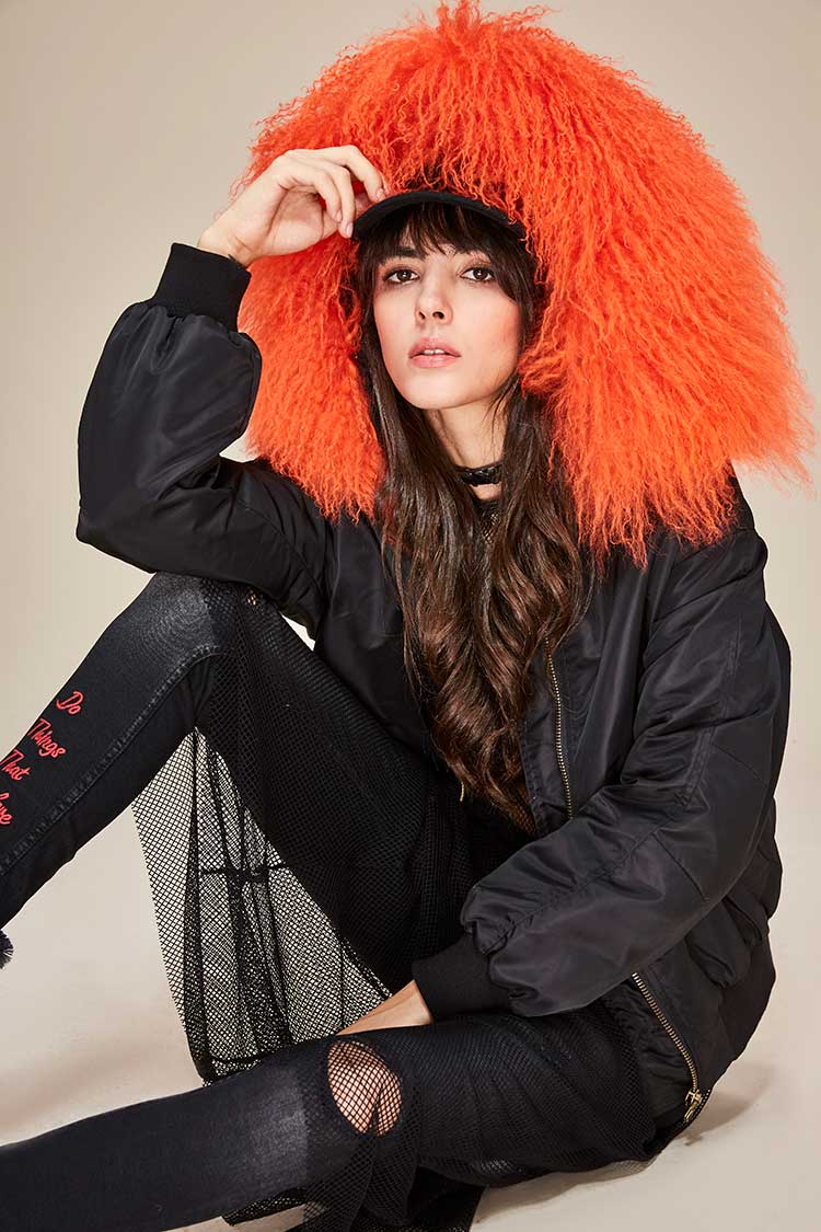 Mix & Match Parka Mix & Match Bomberjacket-Bomberjacket- onlyours.de (1)