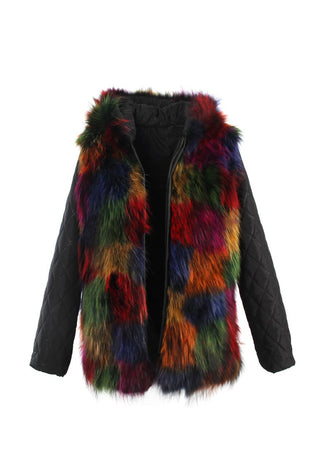 Parka Mix & Match Inner Lining Raccoon Fur Luxus