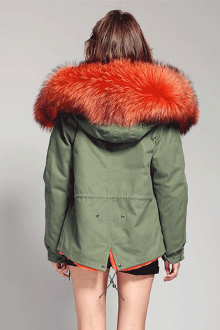 Mix & Match Short Parka-Mix & Match Short Parka- onlyours.de