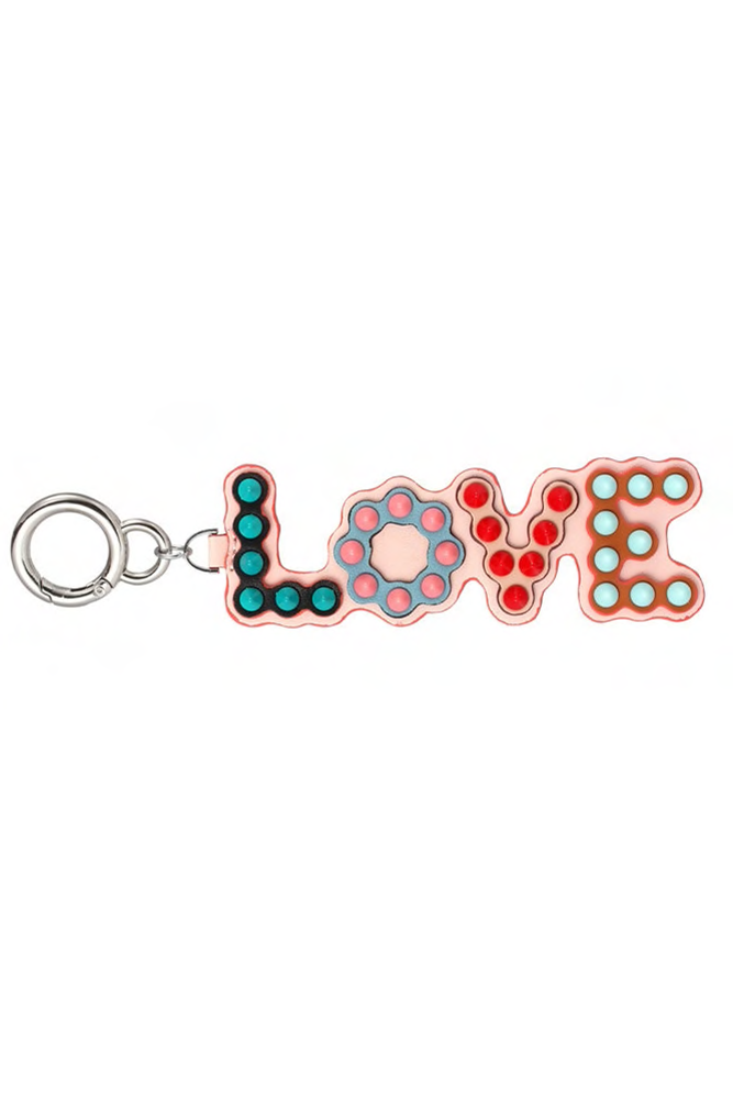 "Mix & Match Parka Real Leather ""LOVE"" Pendant-Accessoires- onlyours.de"