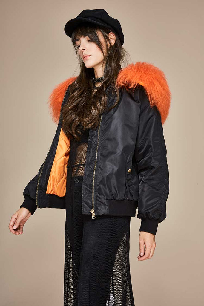 Mix & Match Parka Mix & Match Bomberjacket-Bomberjacket- onlyours.de