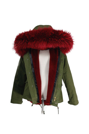 Mix & Match Short Parka Special Edition-Parka- onlyours.de