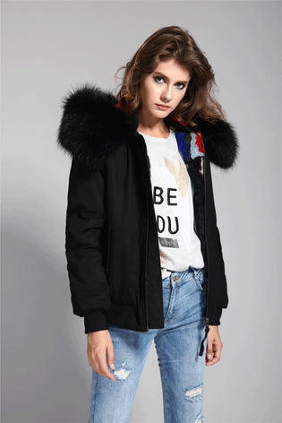 Mix & Match Parka Mix & Match Bomberjacket Premium-Bomberjacket- onlyours.de
