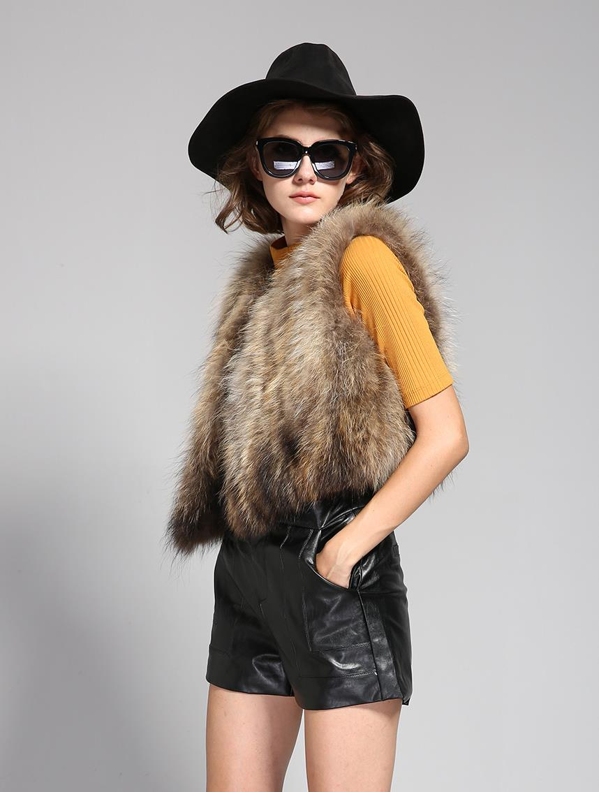 Mix & Match Parka Short Real Fur Vest-Vest- onlyours.de (3)