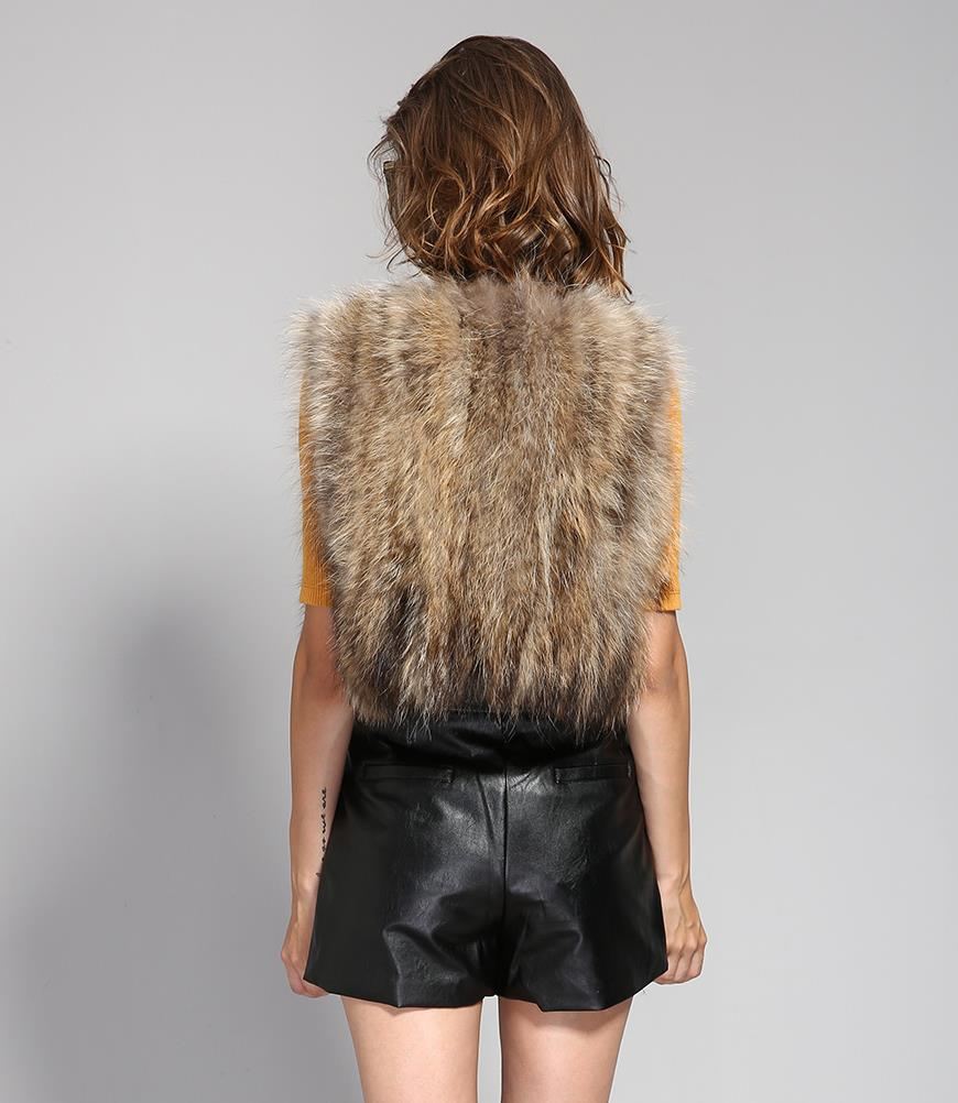 Mix & Match Parka Short Real Fur Vest-Vest- onlyours.de (2)