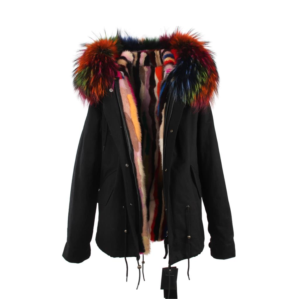 Mix & Match Parka Mix & Match Short Parka - Luxus-Mix & Match Short Parka- onlyours.de