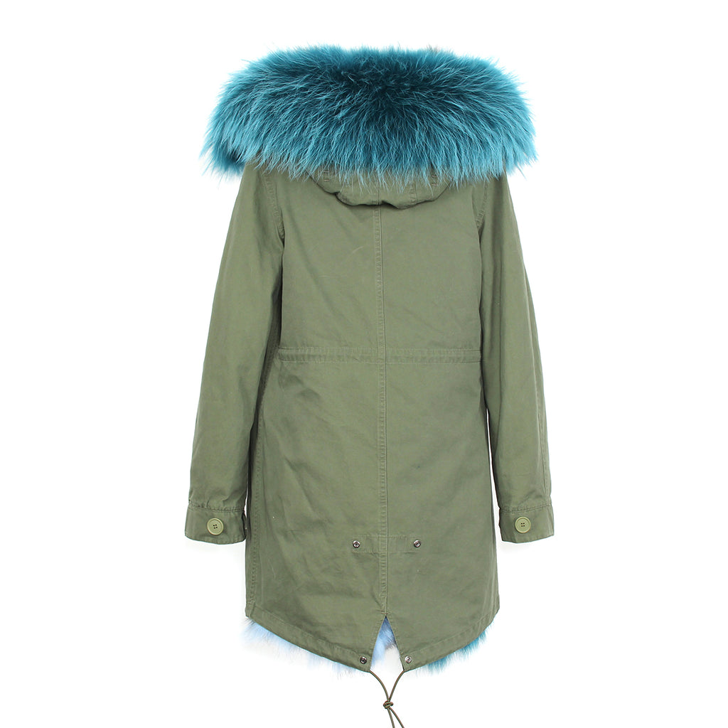 Mix & Match Parka Mix & Match Long Parka | Fox Edition-Mix & Match Long Parka- onlyours.de