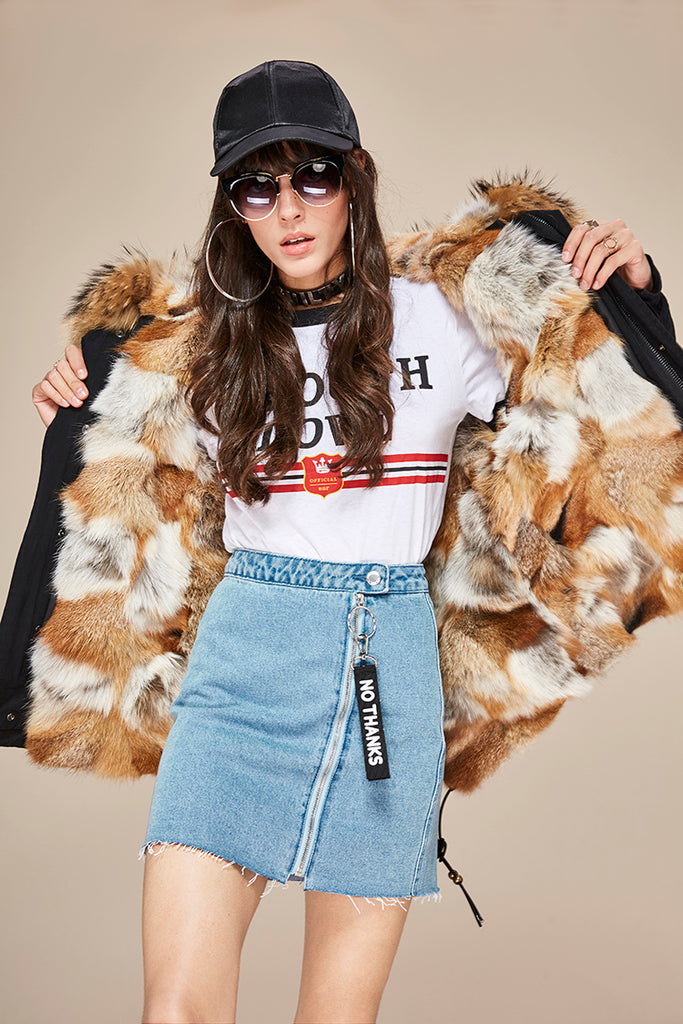 Mix & Match Parka Mix & Match Short | Fox Edition-Mix & Match Short Parka- onlyours.de