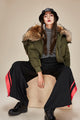 Mix & Match Parka Bomberjacket with Splittable Hoody | Limited Edition-Bomberjacket- onlyours.de