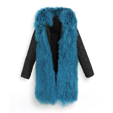 Mix & Match Parka Inner Lining - Long - Mongolia Sheep Fur-Inner Lining- onlyours.de