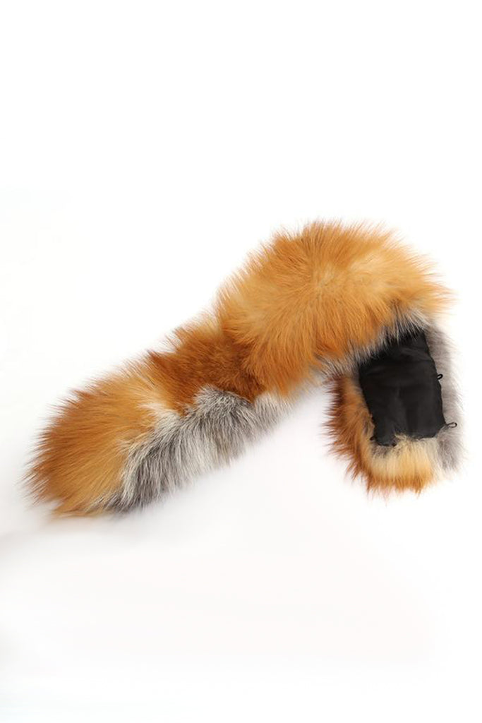 Mix & Match Parka XXL Red Fox Fur Collar-Collar- onlyours.de