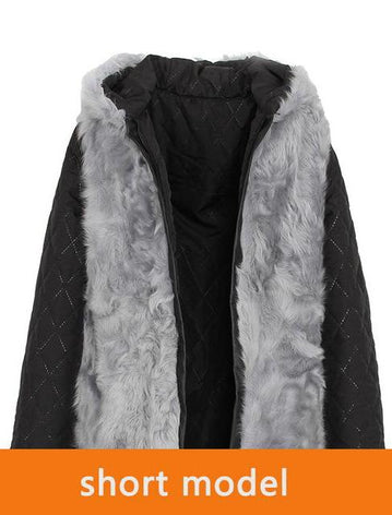 Mix & Match Parka Inner Lining - Real Lamb Fur | Short & Long-Innerlining- onlyours.de