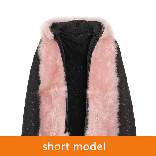 Mix & Match Parka Inner Lining - Short - Lamb Fur-Innerlining- onlyours.de